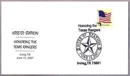 En Honor De Los RANGERS DE TEXAS - Honoring The TEXAS RANGERS. Irving TX 2007 - Policia – Guardia Civil