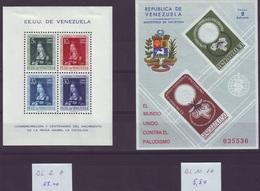 VENEZUELA - Lot ** / * / (o) - 7 Scans - Cote + 40,00 Euro (A 194) - Venezuela