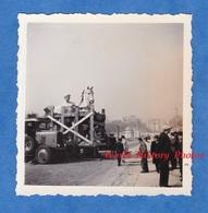 Photo Ancienne Snapshot - PARIS - Travaux De L' Exposition Internationale 1937 - Camion ? Autobus ? - Trocadéro - Automobiles