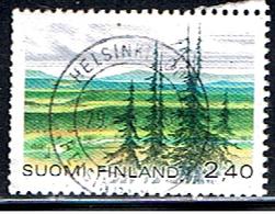 FINLANDIA 222 // YVERT 1001 // 1988 - Usados