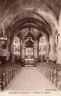 ST. MARCEL.  Intérieur De L'église - France