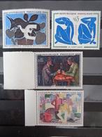 1961 CERES N° 1319 à 1322 ** - 1ere SERIE DES TABLEAUX DES PEINTRES MODERNES - Neufs