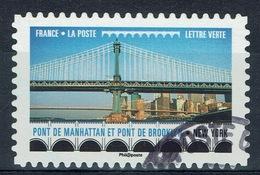 France, Brooklin Bridge, New York City, 2017, VFU Self-adhesive - France