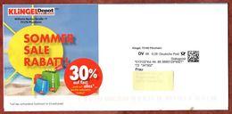 Dialogpost, Klingel Pforzheim, Komplettes Faltblatt, DV 08, 28 C, Datamatrix (70732) - Machine Stamps (ATM)