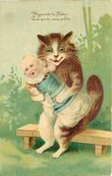 Chat Avec Bébé - Katten