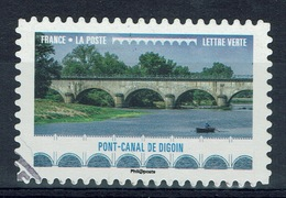 France, Navigable Aqueduc In Digoin, 2017, VFU Self-adhesive - France