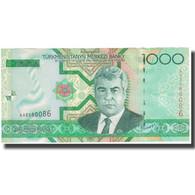 Billet, Turkmanistan, 1000 Manat, KM:20, NEUF - Turkménistan