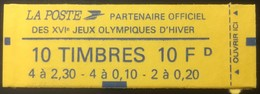 France - Carnet Marianne De Briat - N° 1502 - Neuf Fermé ** - Carnets