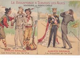 SOUVENIR DE MONTE-CARLO - Le Brigandage à Travers Les Ages - Other