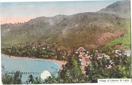 LABORIE (Sainte Lucie) Vue Du Village - Sainte-Lucie