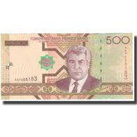 Billet, Turkmanistan, 500 Manat, KM:19, NEUF - Turkménistan