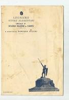 LETTERINA DELLA SCUOLA MAZZINI DI LEGNANO A SOLDATO IN AFRICA ORIENTALE -1935 - Vecchi Documenti