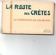 La Route Des Crêtes Du Markstein Au Lac Blanc- Carnet 12 Vues - France