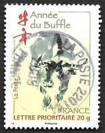 FRANCE  2009 -  Y&T  4325  -  Année Du Buffle  - Cachet - Gebruikt