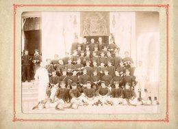 PHOTO 465 - MILITARIA - Photo Originale - Caserne - Militaires - 27 ème Rgt De Dragons à VERSAILLES - Guerre, Militaire