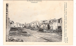 CPA Vitrimont La Rue N'Est Plus Bordée Guerre En Lorraine 54 Meurthe Et Moselle - Frankrijk