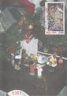 Carte  Maximum  1er   Jour   SAINT  PIERRE  Et   MIQUELON     NOËL   1994 - Cartes-maximum