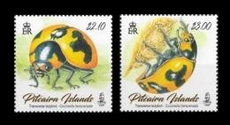 Pitcairn Islands 2017 Mih. 1013/14 Fauna. Transverse Ladybirds MNH ** - Pitcairn