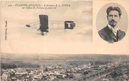 ETAMPES  AVIATION  -  L ' Aviateur  B.L ZORRA  Sur Biplan Farman En Plein Vol ( Medaillon ) - Aviatori