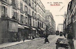 PARIS - Rue De Meaux - Arrondissement: 19