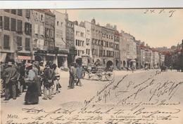 Metz , St Ludwigsplatz ; Place St Louis ,( Nels , Metz , Série 104 , N° 68 , Colorisée ) - Metz
