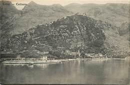 Pays Div-ref R559- Montenegro - Cattaro - Kotor - Carte Bon Etat  - - Montenegro