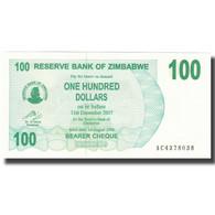 Billet, Zimbabwe, 100 Dollars, 2007, 2007-07-31, KM:42, NEUF - Zimbabwe
