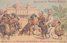 SOUVENIR DE MONTE-CARLO - Le Congrès Des Nations à Monte-Carlo - Other