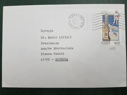 (27047) STORIA POSTALE ITALIA 1985 - 6. 1946-.. Repubblica