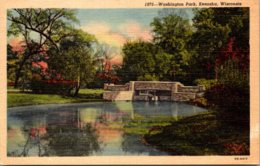 Wisconsin Kenosha Washington Park Curteich - Kenosha