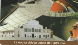 PREPAID PHONE CARD ITALIA PADRE PIO (PM1994 - Italie