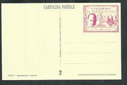 Cartolina Postale Entier Postal ; Il Duce Mussolini - Italie
