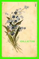 FLEURS - GERBE DE FLEURS - CIRCULÉE EN 1916 - - Fleurs