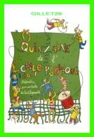 ADVERTISING, PUBLICITÉ - LIGUE FRANÇAISE DE L'ENSEIGNEMENT - QUINZAINE DE L'ÉCOLE PUBLIQUE 2001 - - Publicité