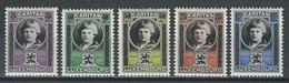 Luxemburg Mi 177-81  * MH - Unused Stamps