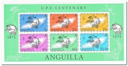 Anguilla 1974, Postfris MNH, UPU - Anguilla (1968-...)