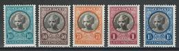 Luxemburg Mi 192-96  * MH - Unused Stamps