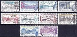 Tchécoslovaquie 1961 Mi 1293-9+1311-3 (Yv 1172-81), Obliteré - Used Stamps