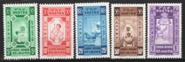 Etiopia 1945 Y.T.240/44 **/MNH VF/F - Äthiopien
