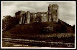 Ref 1278 - Circa 1949 - Real Photo Postcard - Cockermouth Castle - Cumbria - Cumberland/ Westmorland
