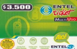 PREPAID PHONE CARD CILE  (PM2201 - Chili