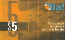 PREPAID PHONE CARD ARGENTINA  (PM2206 - Argentinien