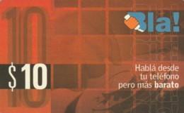PREPAID PHONE CARD ARGENTINA  (PM2207 - Argentina