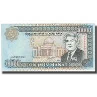 Billet, Turkmanistan, 10,000 Manat, 2000, 2000, KM:10, NEUF - Turkménistan