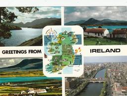 CP  - Irlande - GREETINGS FROM IRELAND - Non écrite - Irlande