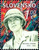 Slovakia - 2019 - Personalities - Michael Strank, Slovak-American Soldier - Mint Stamp - Slovaquie