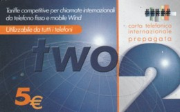PREPAID PHONE CARD ITALIA WIND (PM2287 - Schede GSM, Prepagate & Ricariche