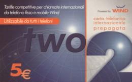 PREPAID PHONE CARD ITALIA WIND (PM2303 - Schede GSM, Prepagate & Ricariche