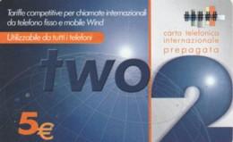 PREPAID PHONE CARD ITALIA WIND (PM2304 - Schede GSM, Prepagate & Ricariche