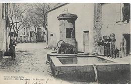 46, Lot, SALVIAC, La Fontaine, Scan Recto-Verso - Salviac